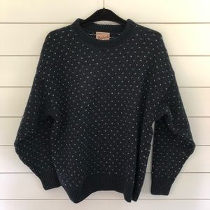 Woolrich Wool Blend Sweater in Navy
